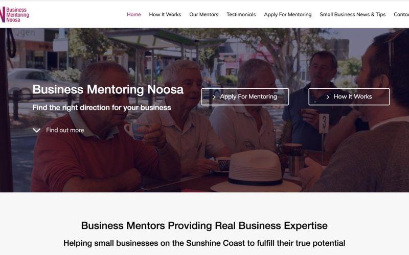 New Website Launch – Business Mentoring Noosa
